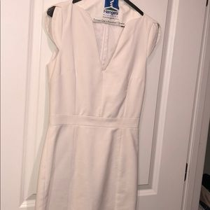 French Connection Lola Business Shift Dress White